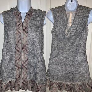 Sale‼️NEW! Oddy Sleeveless Zippered Hooded Vest!